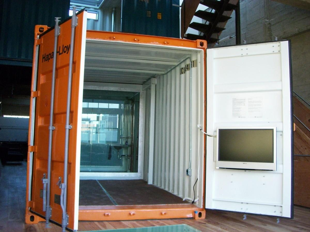 Single Shipping Container Homes Interior House
