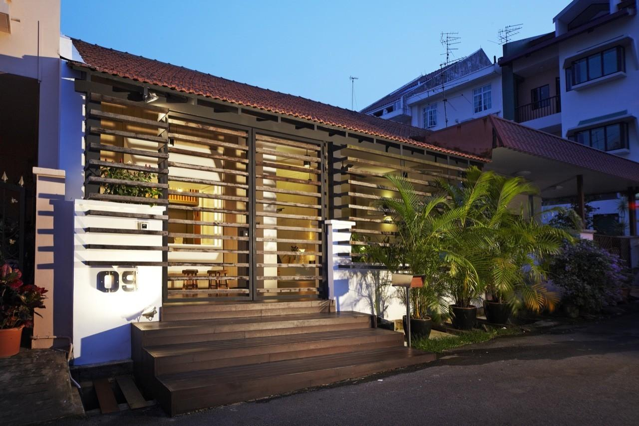 Single Storey Terrace House Transformed Nota Design