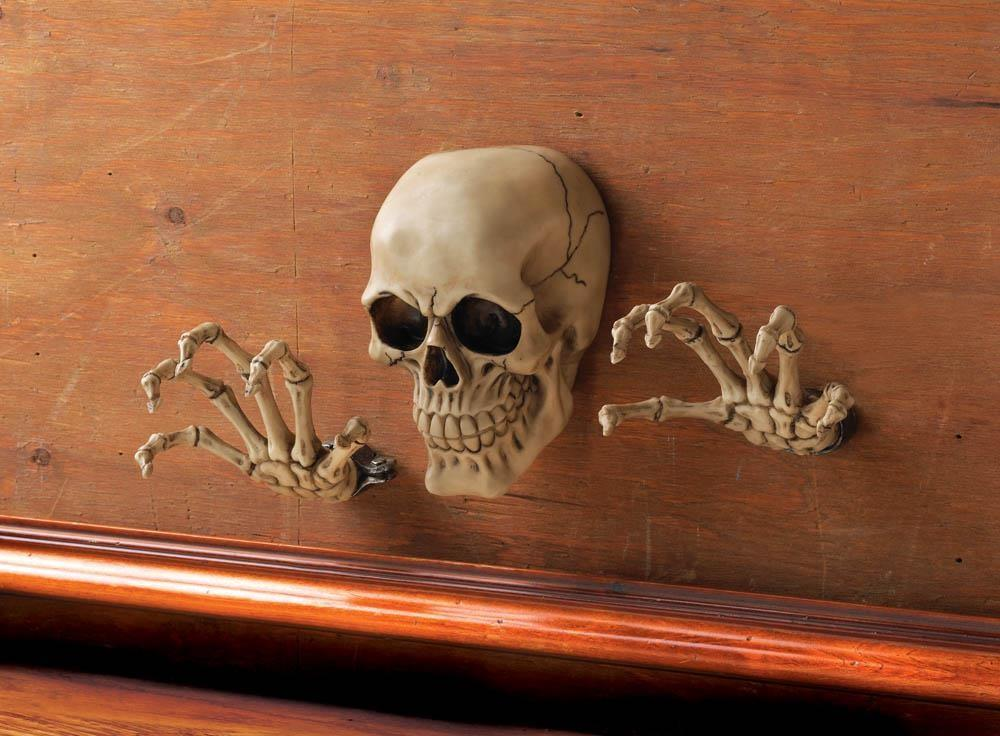 Skeleton Through Wall Decor Mythical