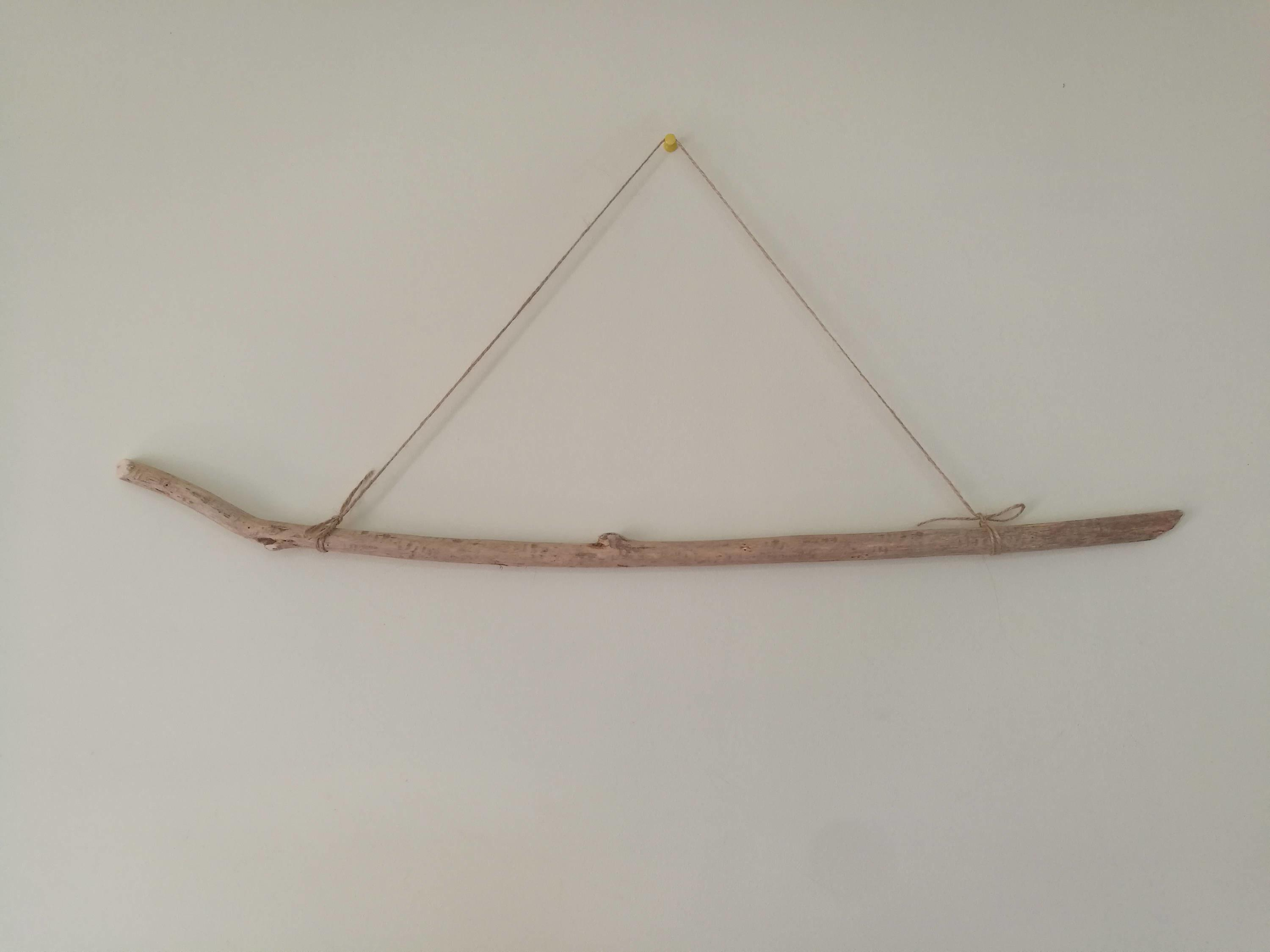 Skinny Driftwood Stick Wall Hanging Crafts Decorations