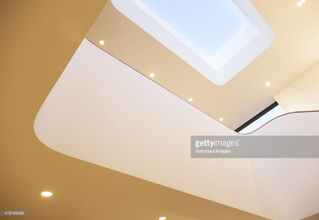Skylight Recessed Lights Modern House Stock