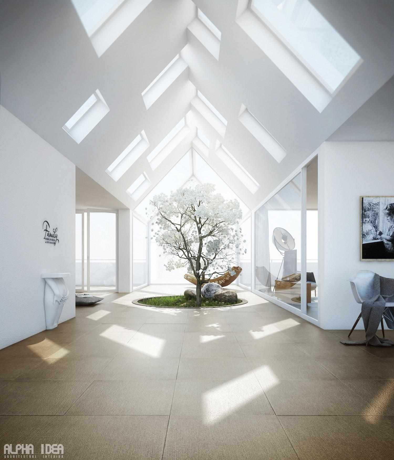 Skylights Interior Design Ideas