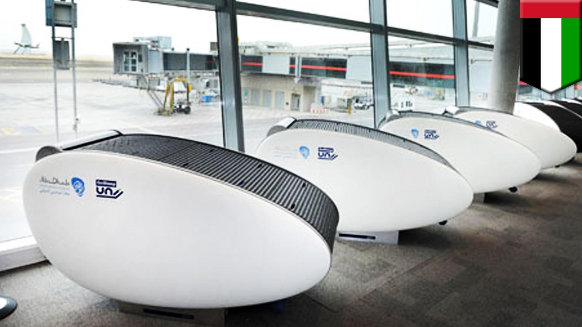 Sleeping Pods Airports Elsewhere Allow Get