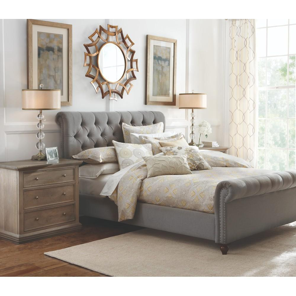 Sleigh Bed Queen Cast Iron Beautiful