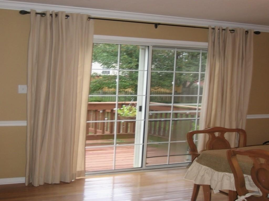 Sliding Glass Door Window Treatment Jacobhursh