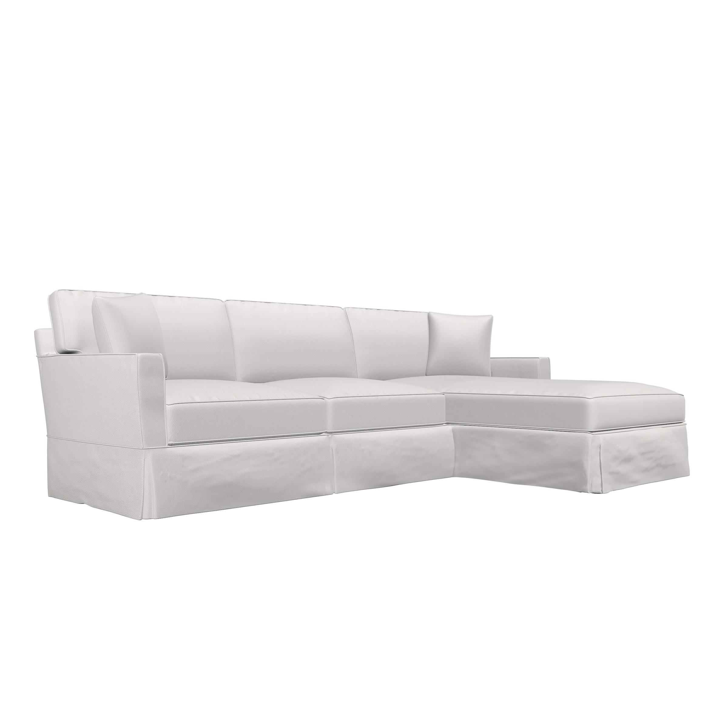 Slipcover Sofa Chaise Lounge Several Fabric Choices