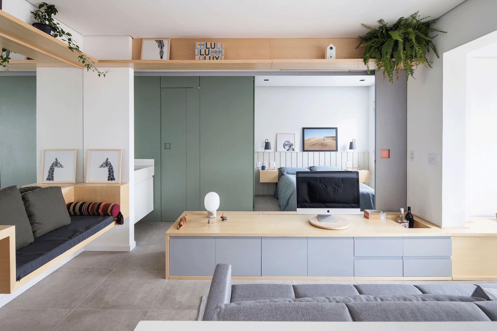 Small Apartment Maximizes Its Functional Space