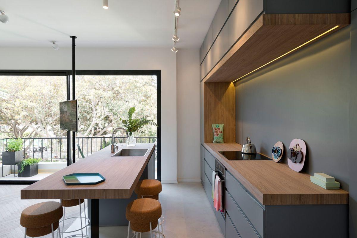 Small Apartment Refreshed Color New Interior Design