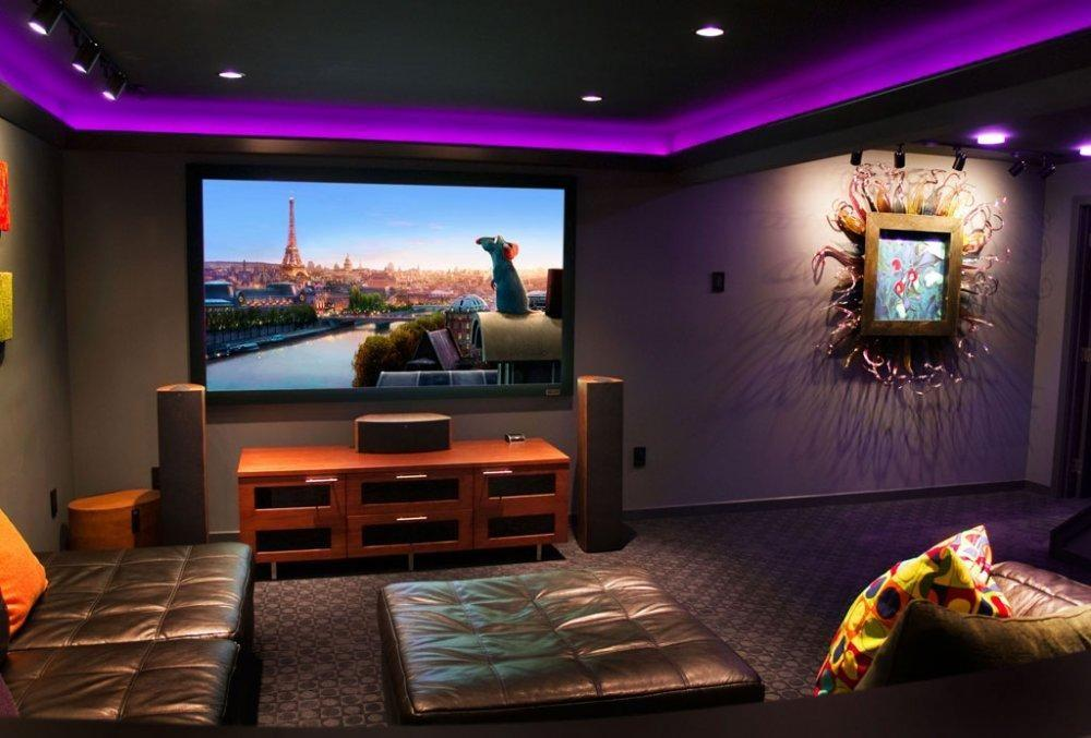 Small Basement Home Theater Ideas Diy Installing