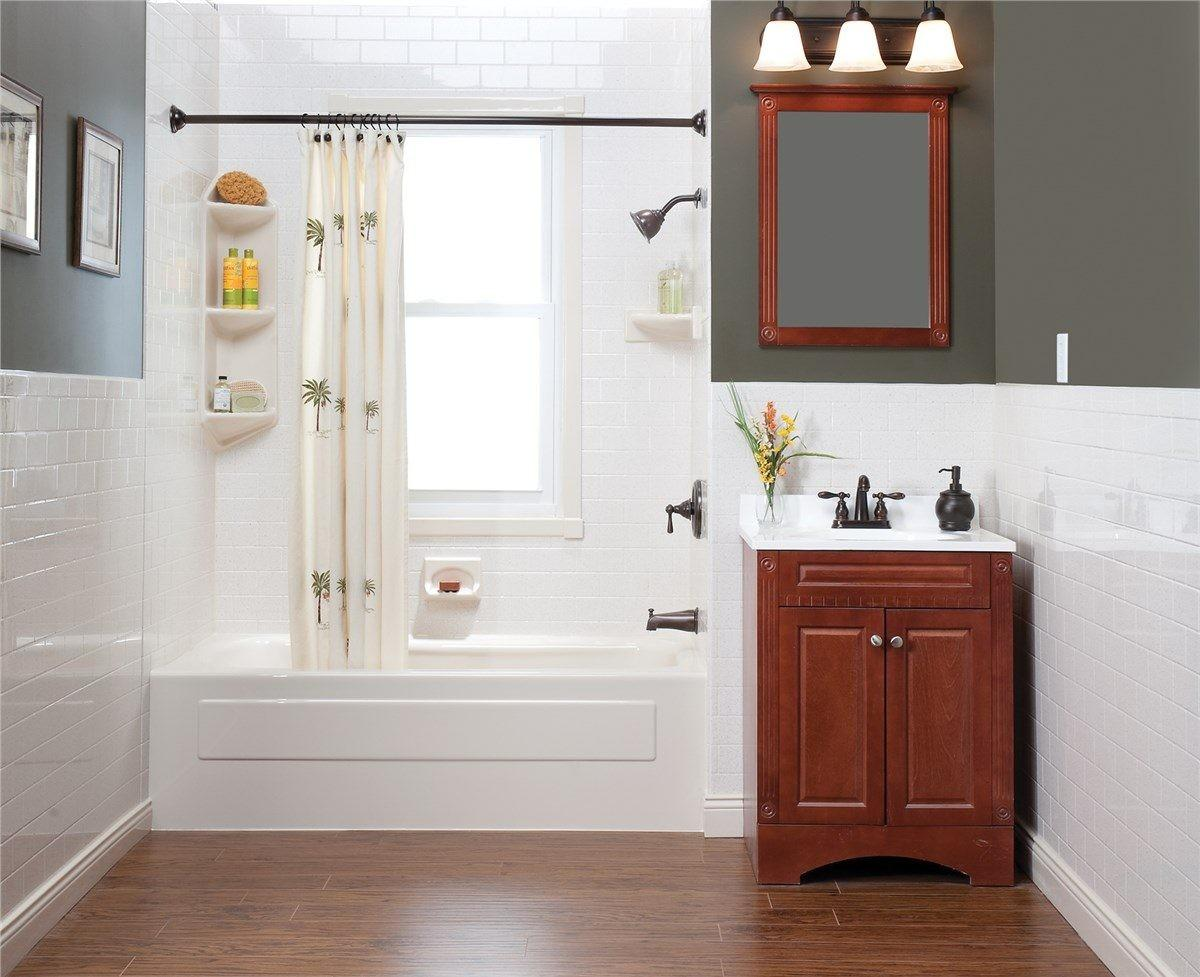 Small Bathroom Makeovers Awesome Back Post Simple