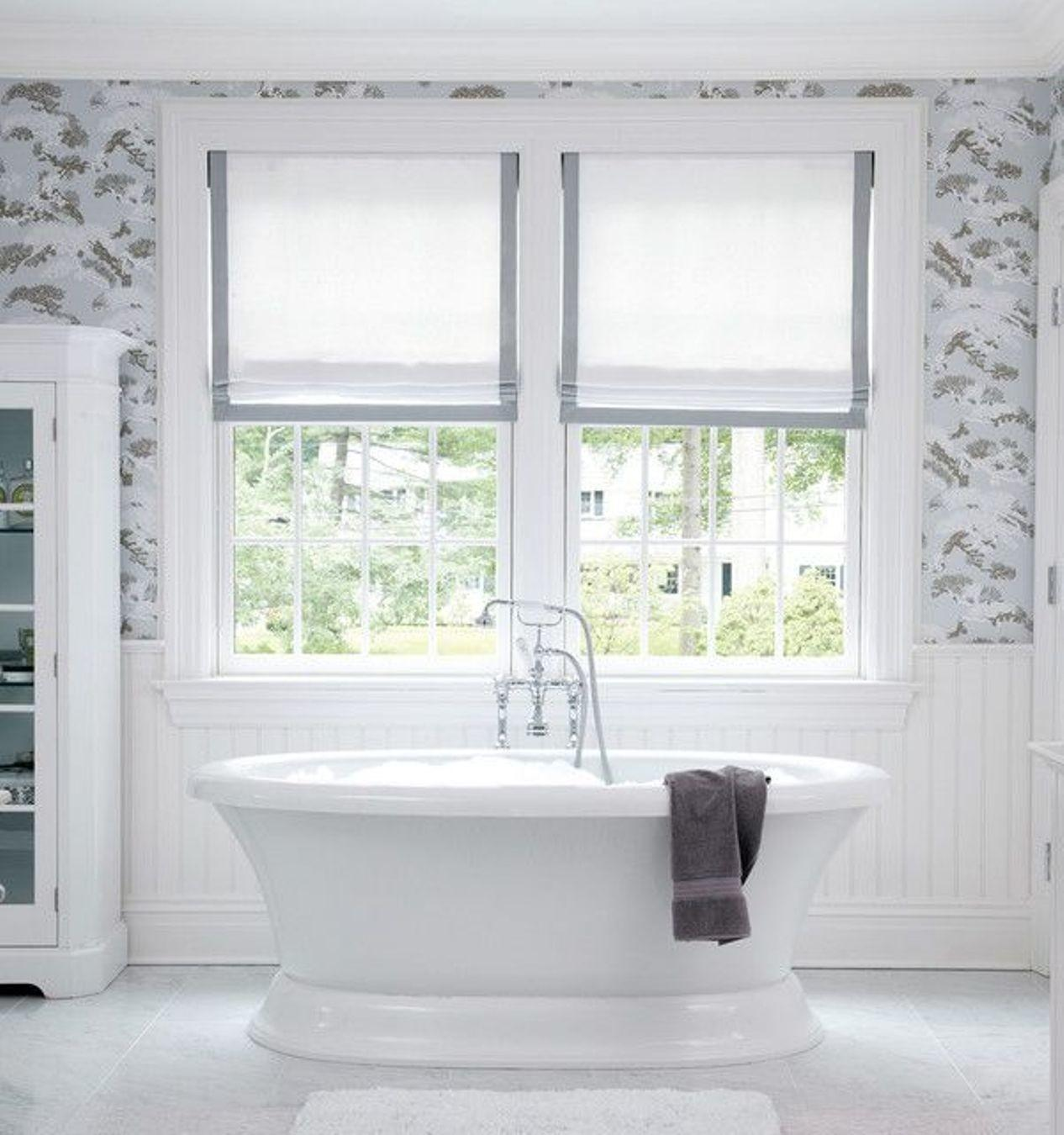 Contemporary Bathroom Window Treatments That Ideal For Your Dream