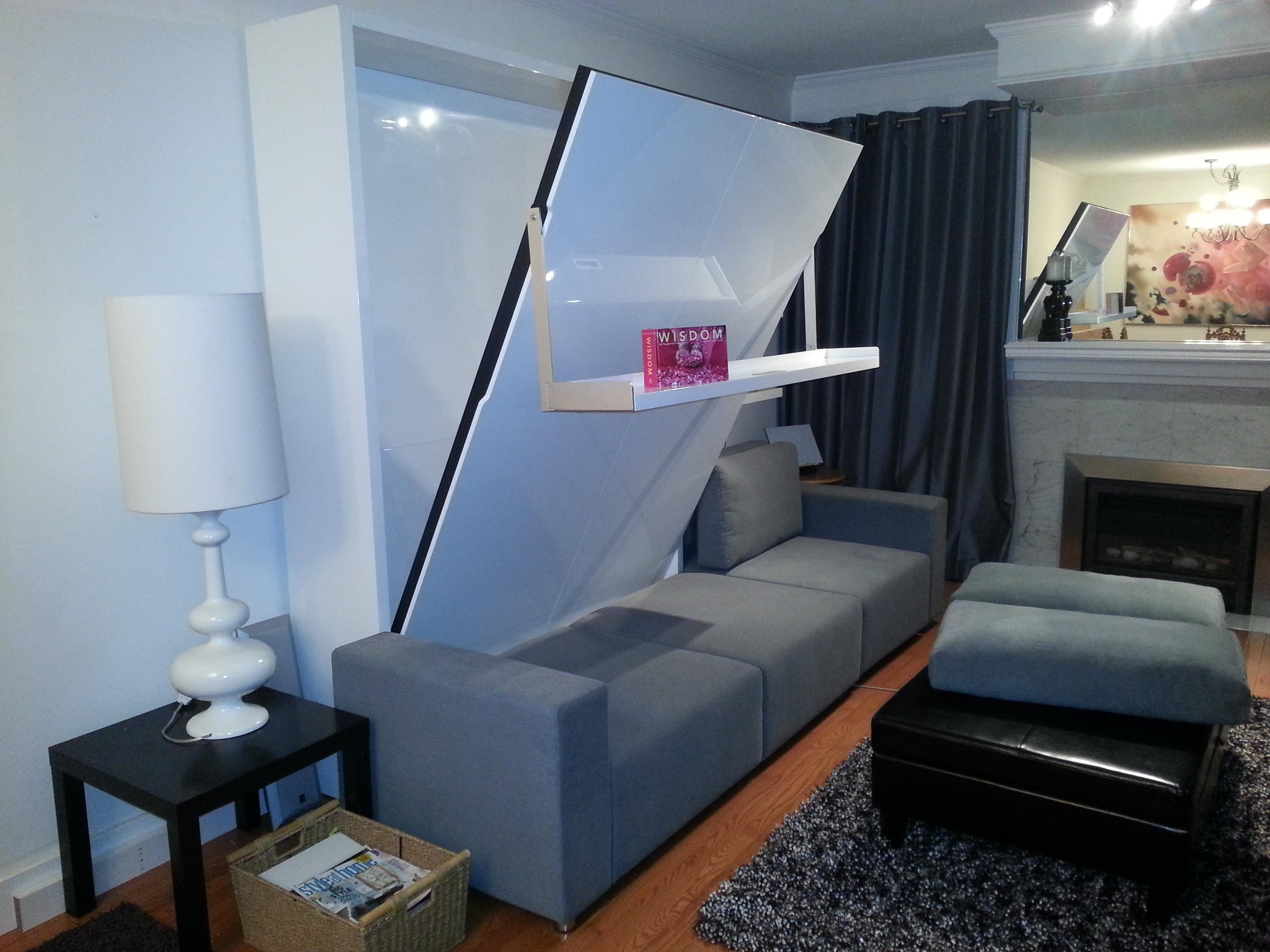 Small Bedroom Living Space Room