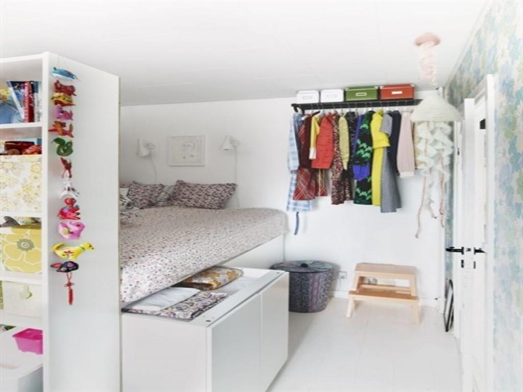 Small Bedroom Solutions Girls Decorating Ideas