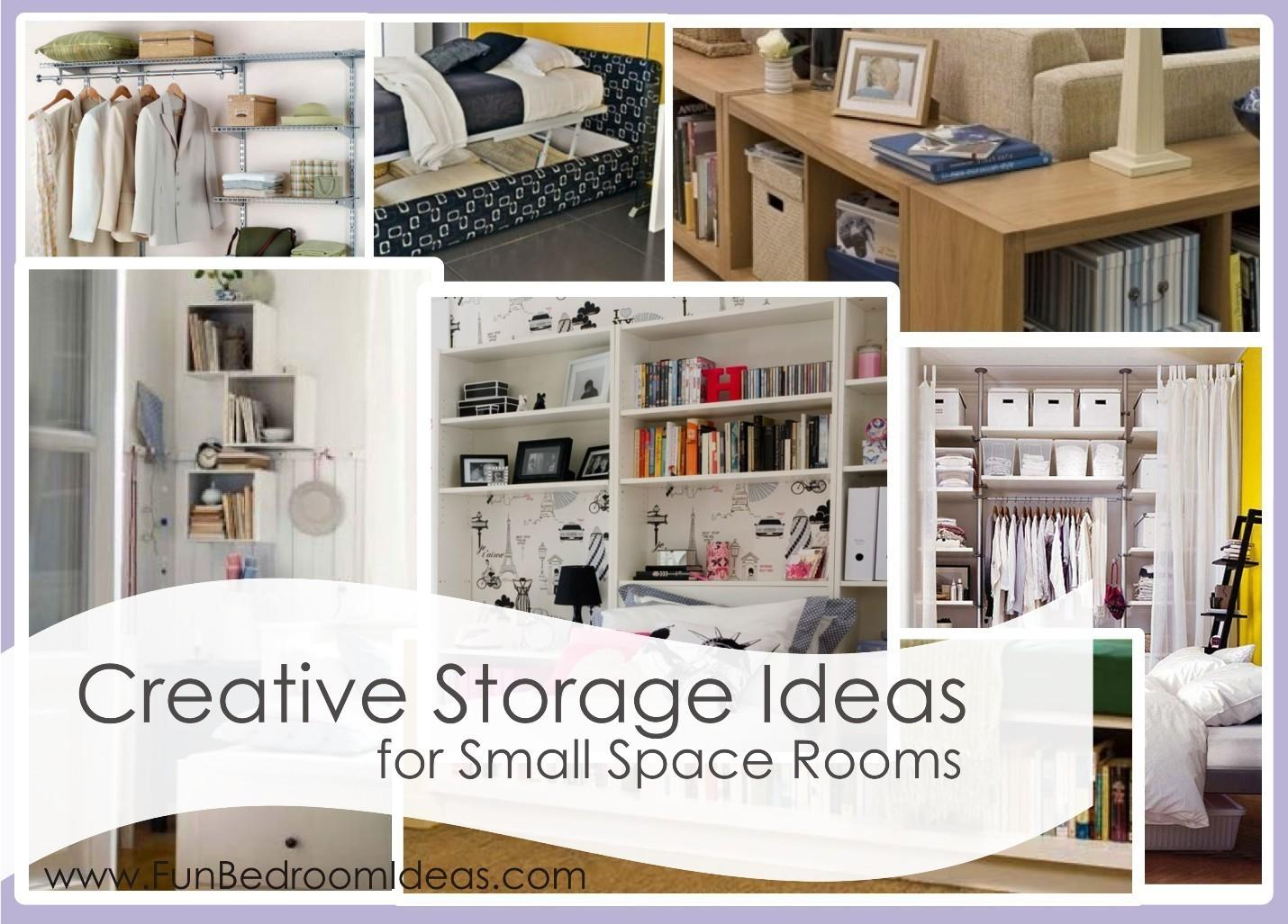 Small Bedroom Storage Ideas Creative