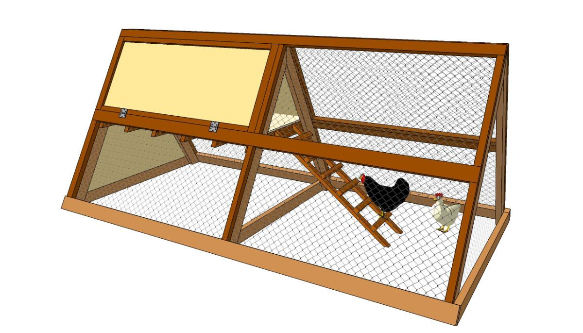 Small Chicken Coop Plans Diy