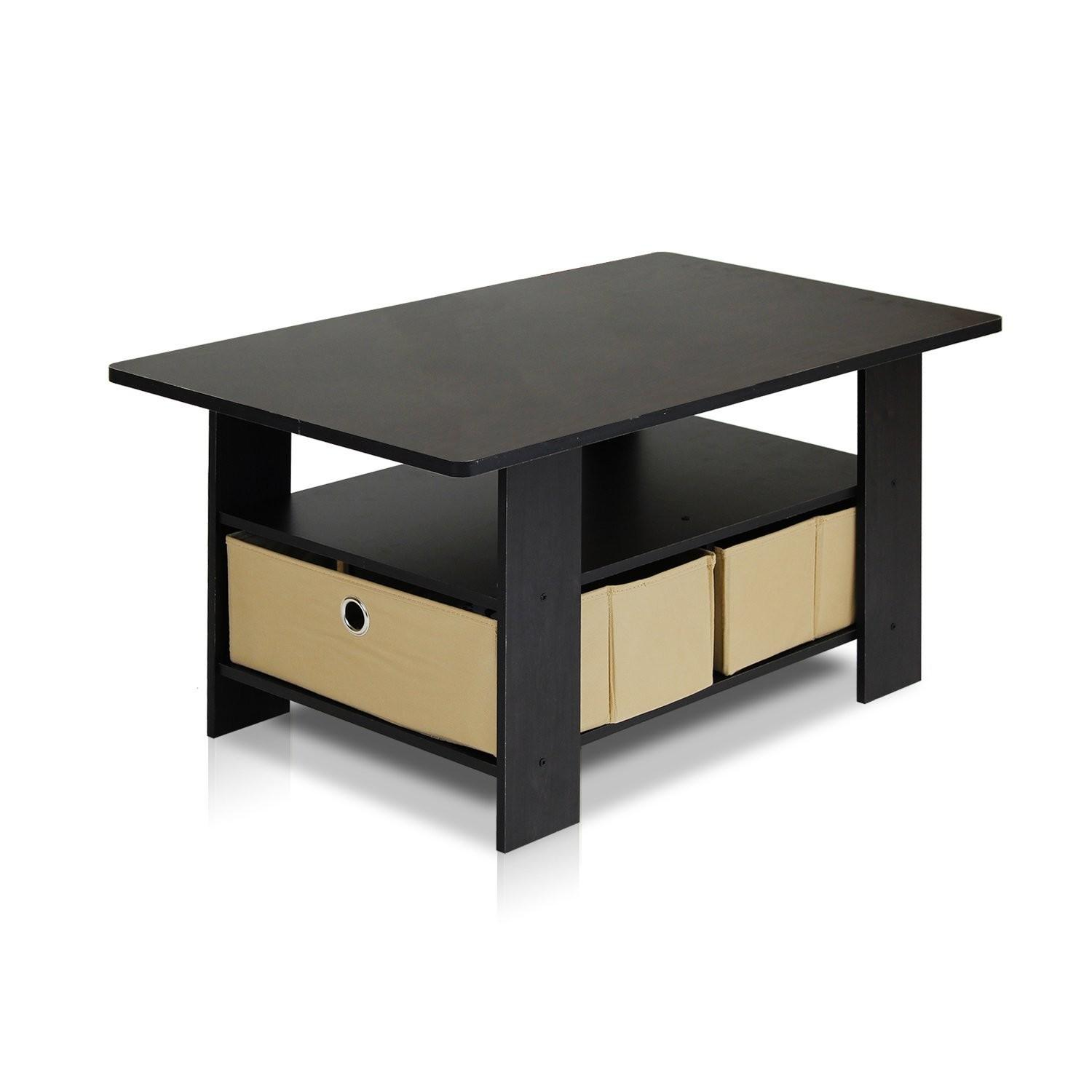Small Coffee Table Living Room Furniture Dorm Desk Home