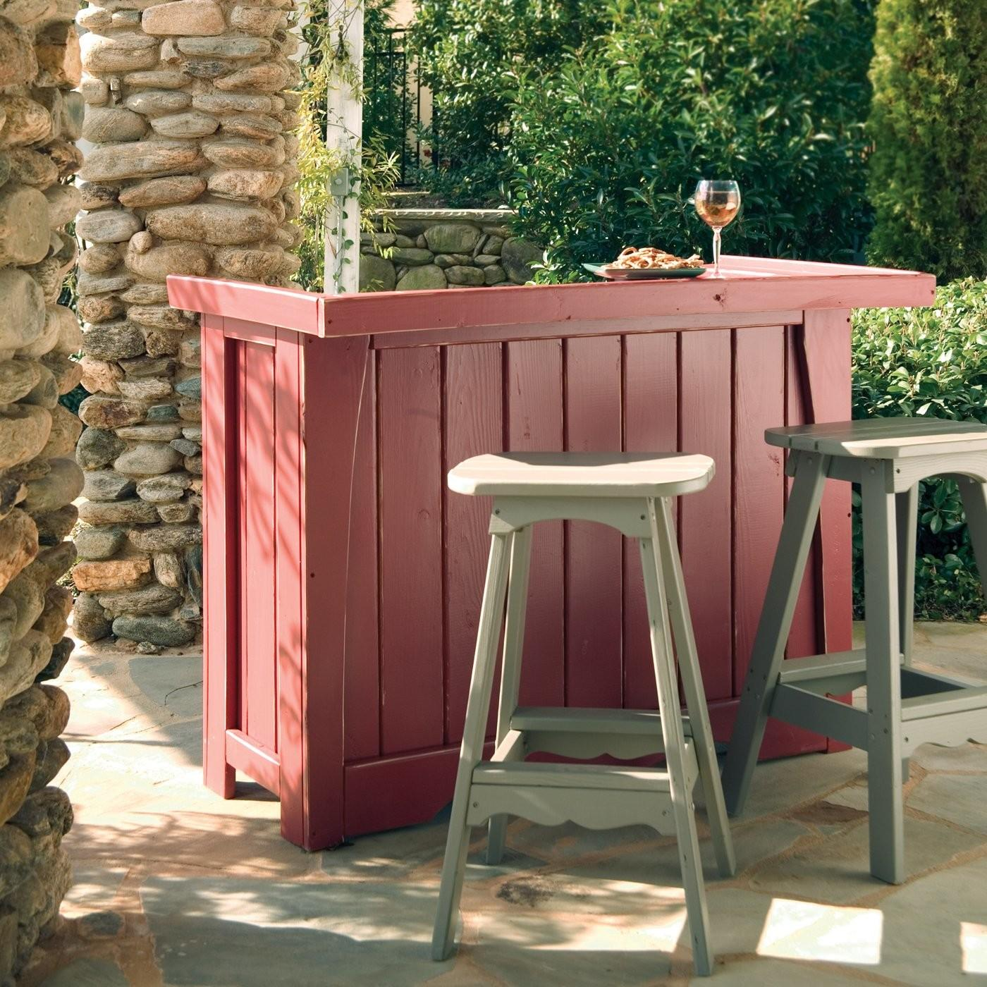 Small Deck Bewitching Furniture Nice Outdoor Bar