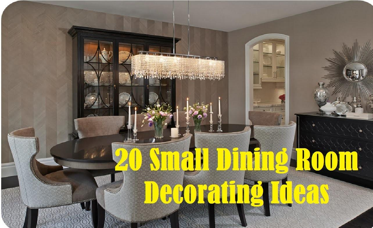 Small Dining Room Decorating Ideas