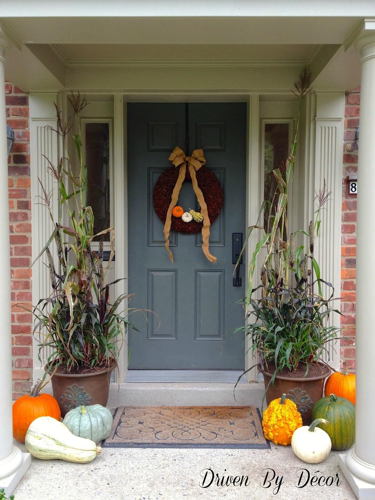 Small Front Porch Decorating Ideas Fall