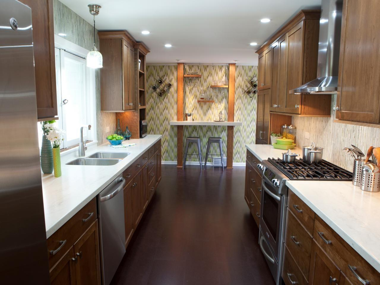 Small Galley Kitchen Ideas Tips
