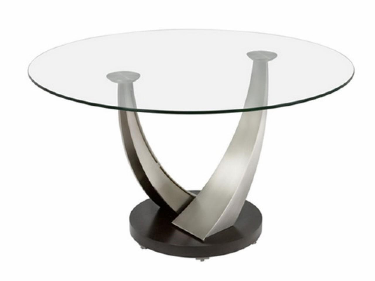 Small Glass Coffee Table Round