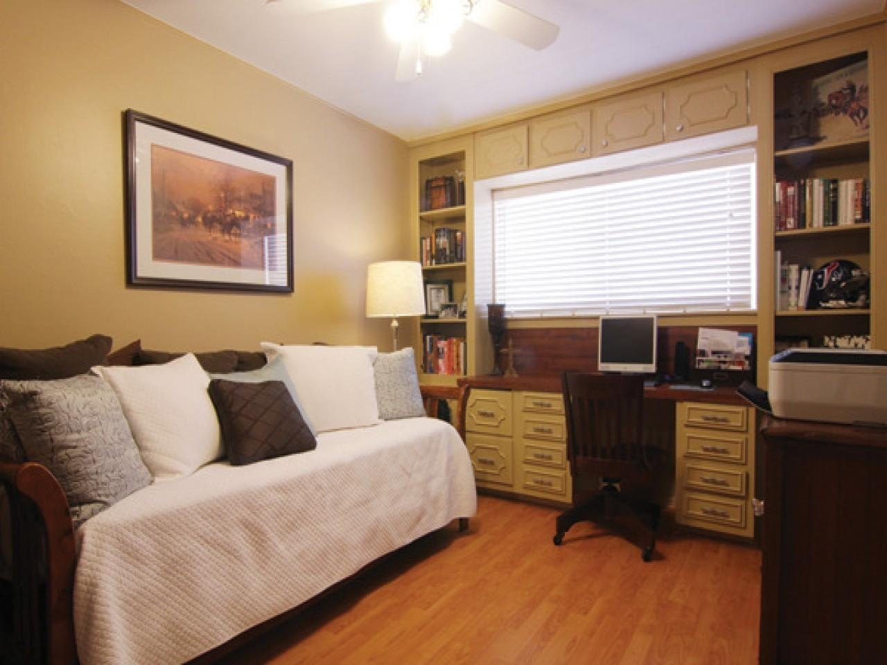 Small Home Office Guest Room Ideas Design