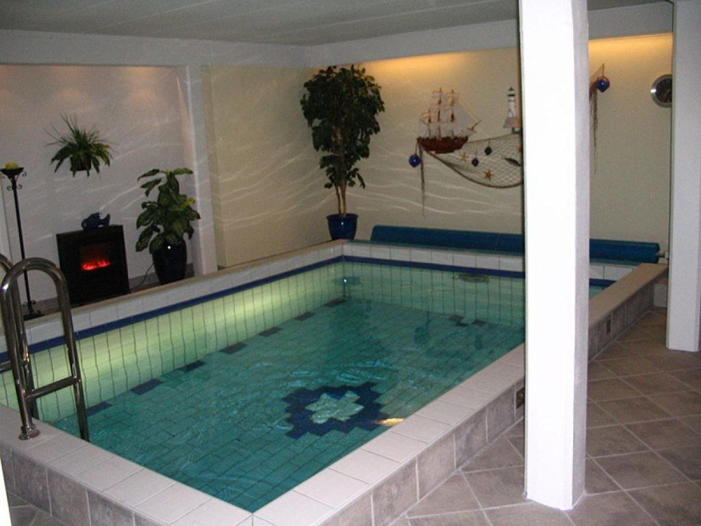 Small Indoor Pool Design Hammock Modern