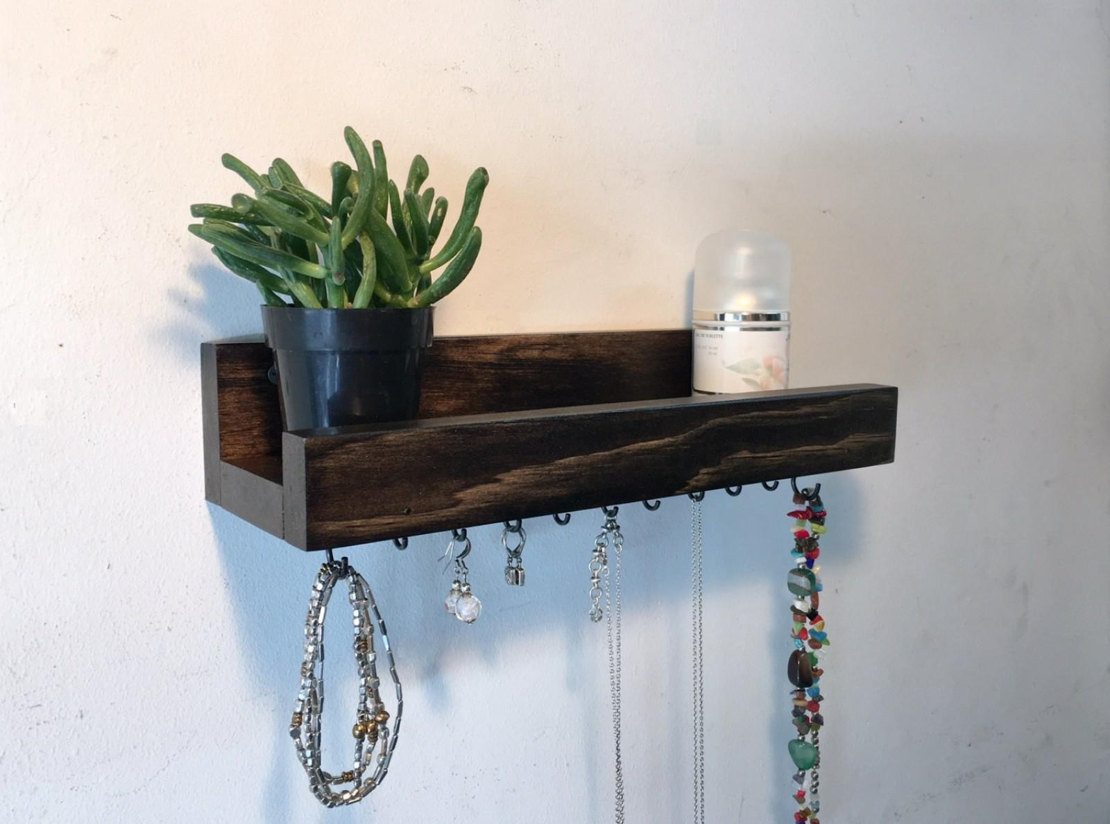Small Jewelry Shelf Treetop Woodworks