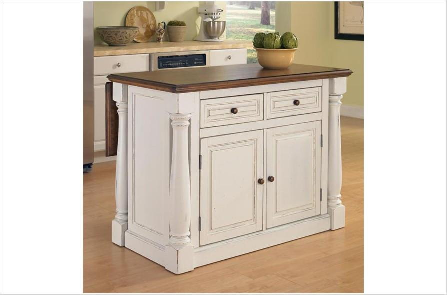 Small Kitchen Islands Wheels Intended Property