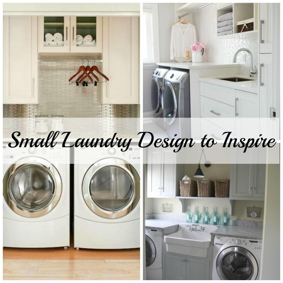 Small Laundry Designs Inspired Space Builder Wife