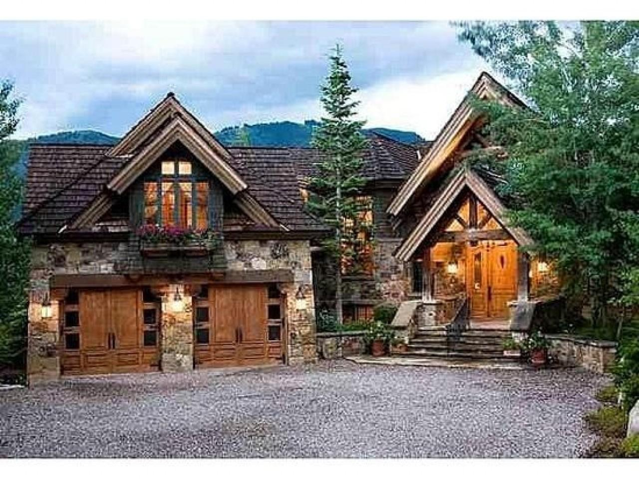 Small Lodge Style Homes Mountain Rustic House Plans Home