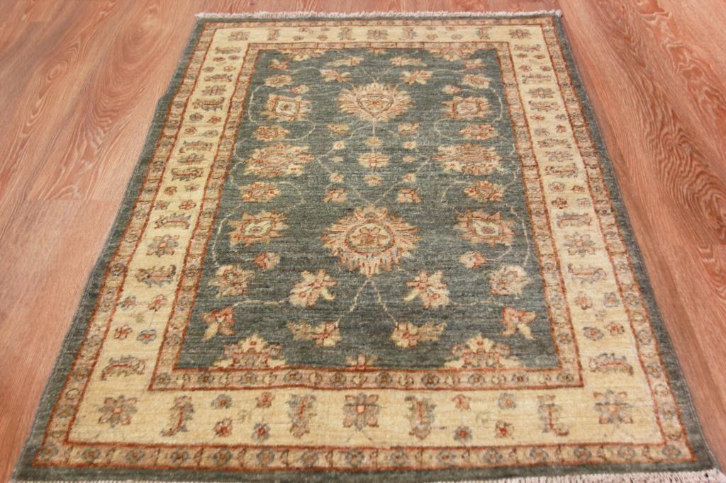 Small Luxury High End Wool Pakistan Ziegler Rug Unique