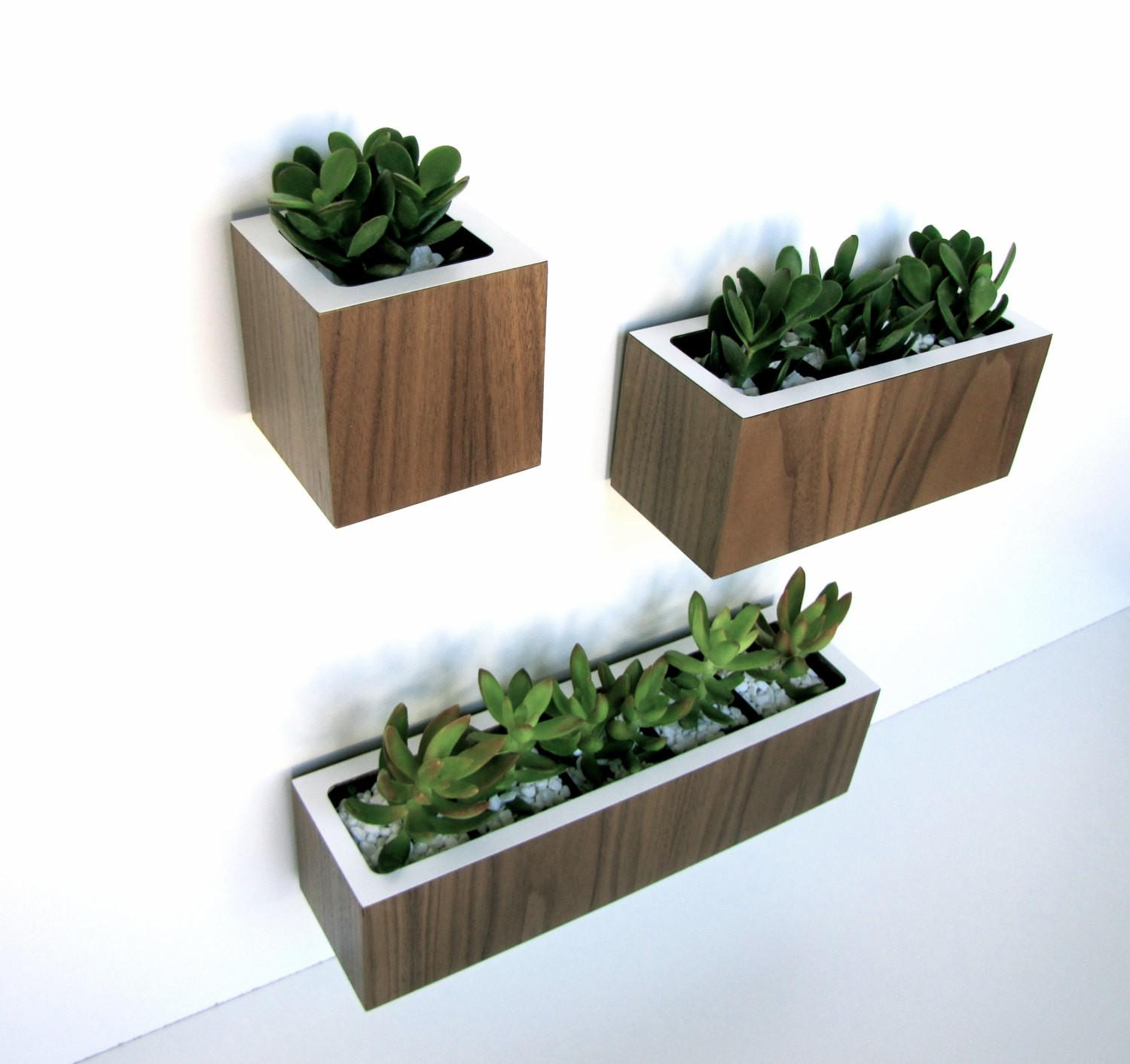 Small Modern Hanging Planter Box Decks Balcony