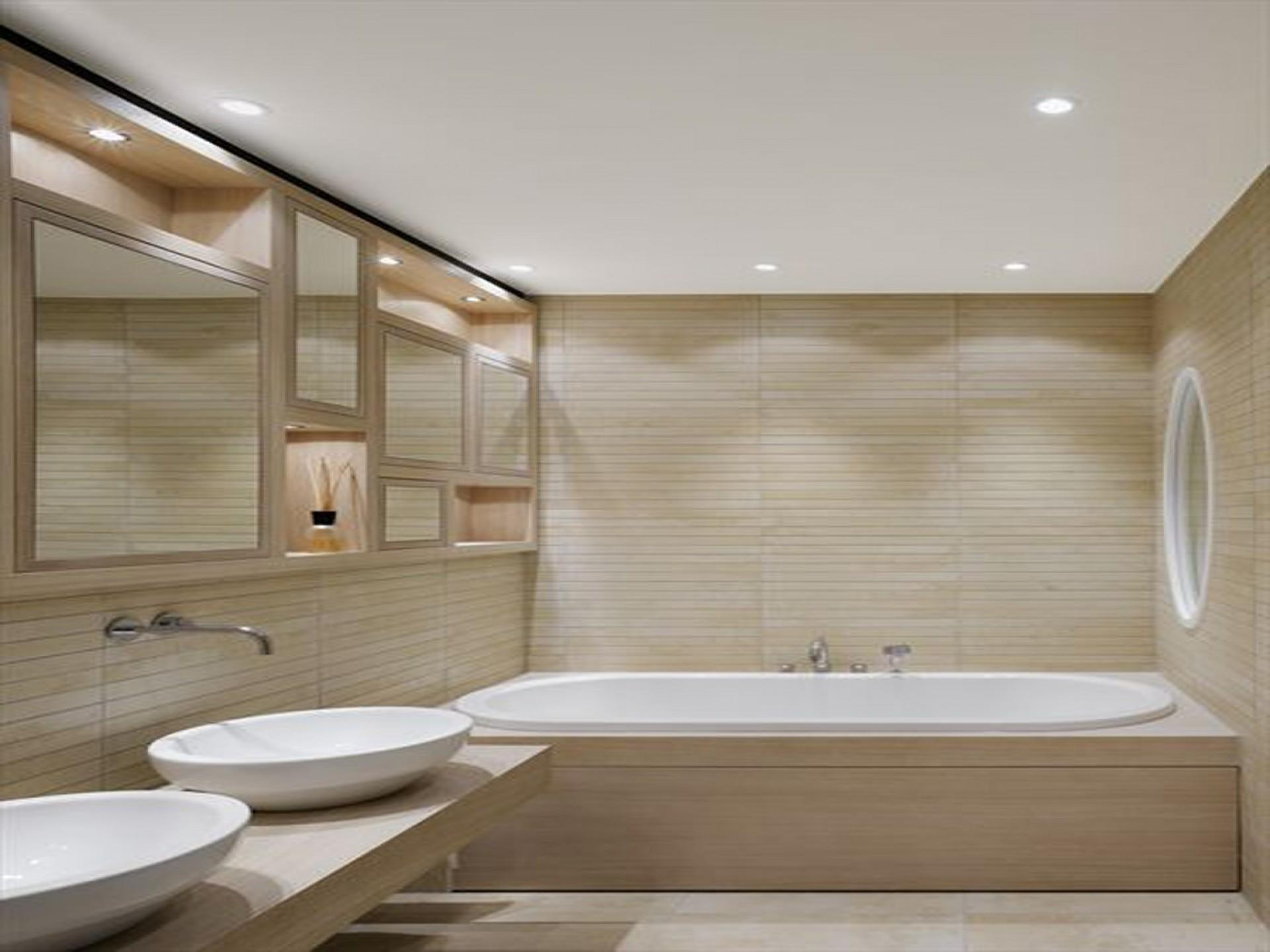 Small Modern Minimalist Bathroom Interior Design