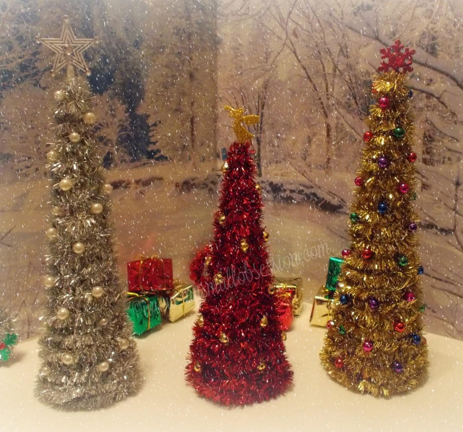 Small Obsession Easy Diy Miniature Christmas Trees