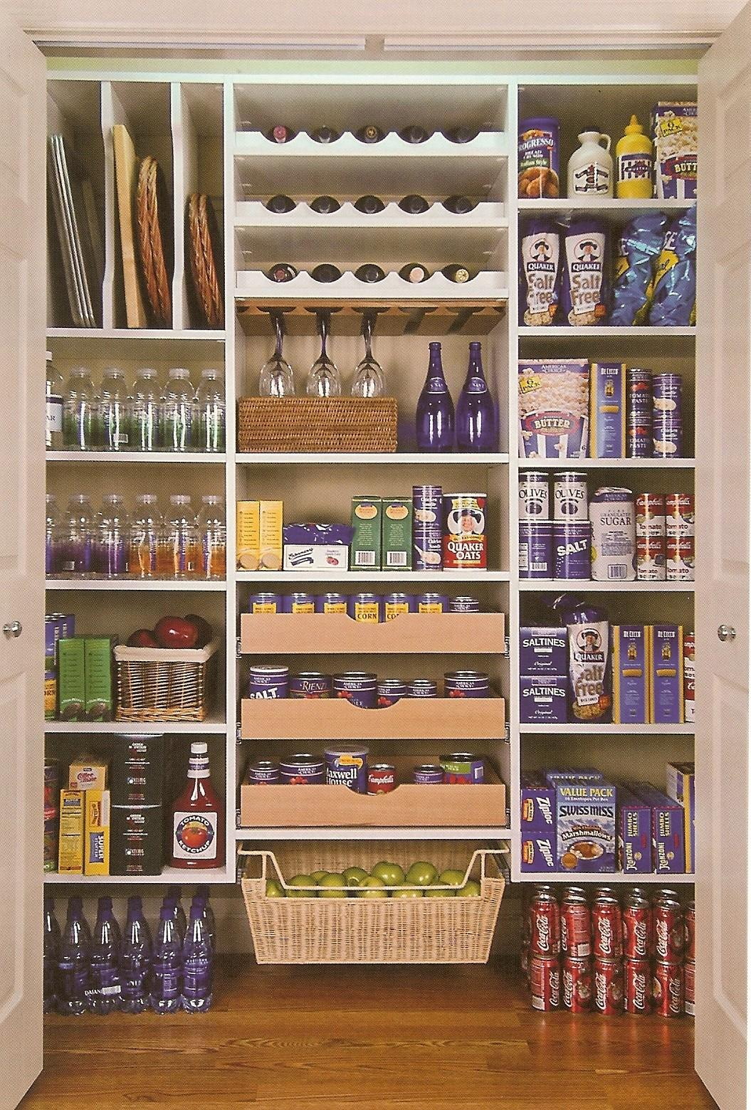 Small Pantry Closet Shelving Ideas