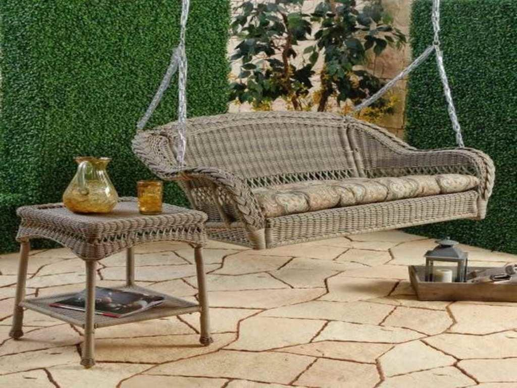 Small Porch Swing Wicker Jbeedesigns Outdoor Awesome