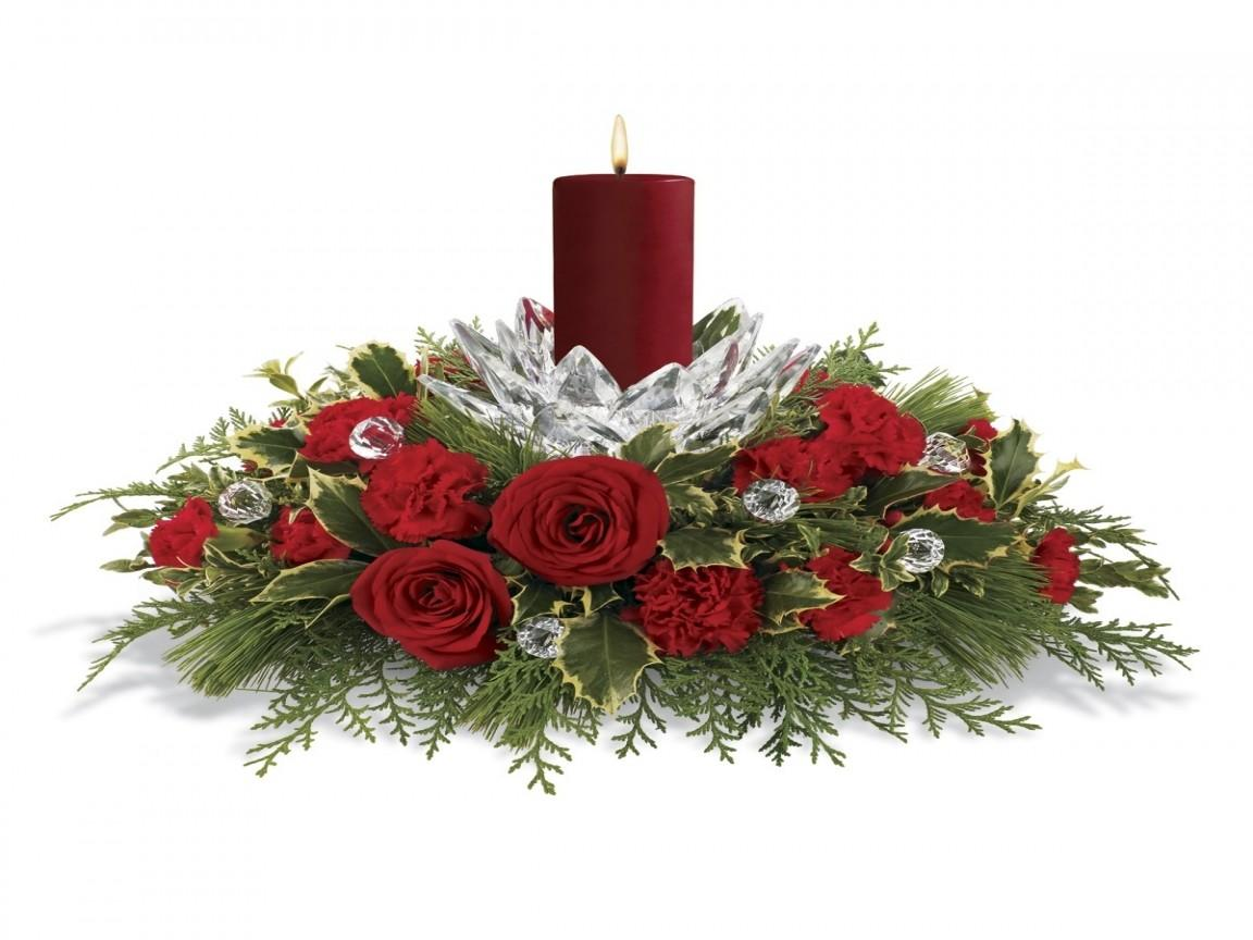 Small Room Arrangement Christmas Floral