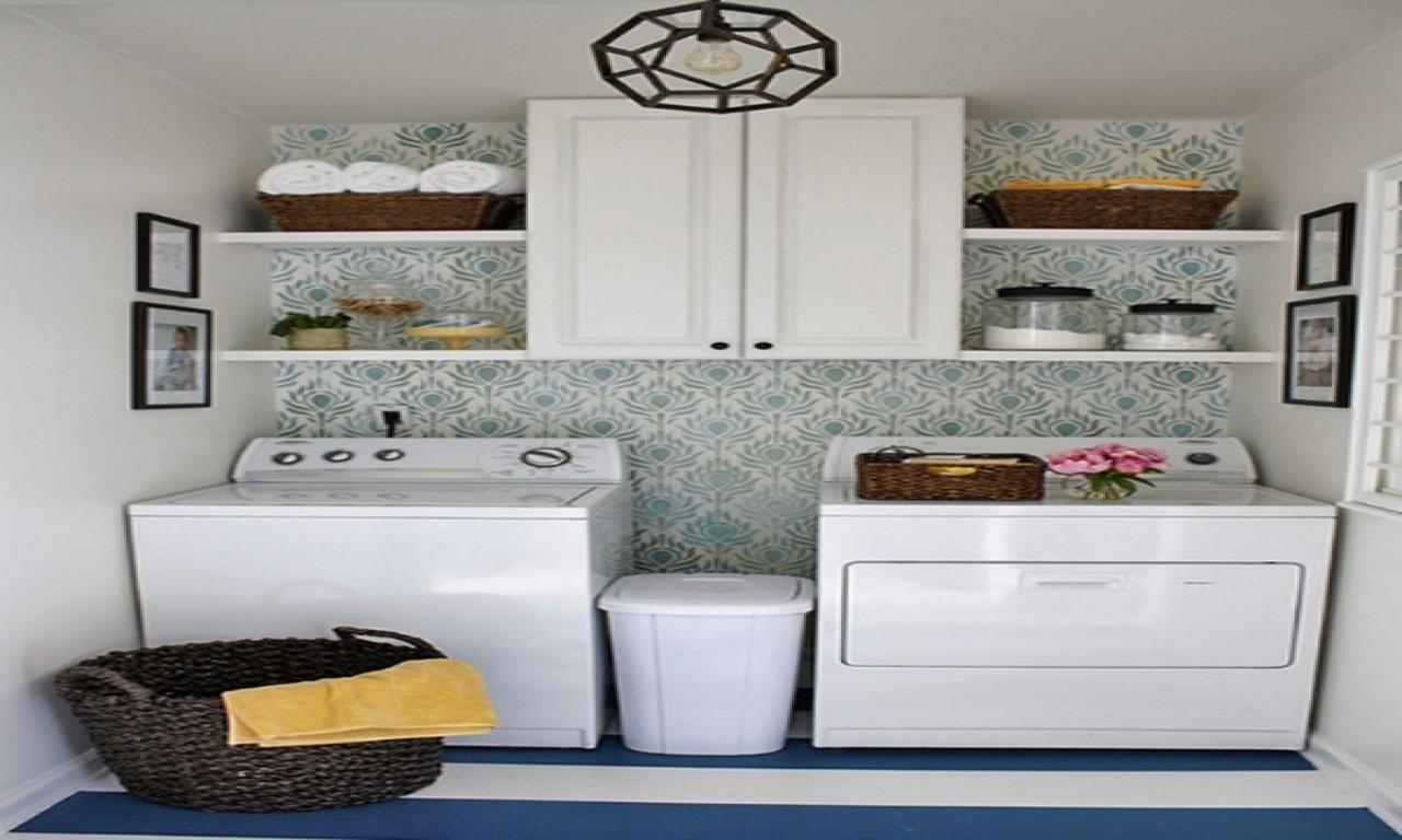 Small Room Storage Solutions Laundry Makeovers