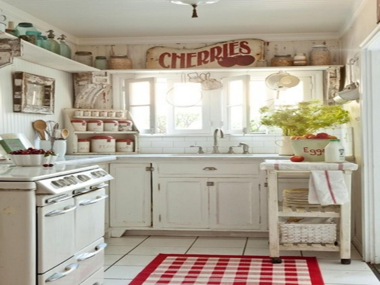 Small Rustic Kitchen Ideas Shabby Chic