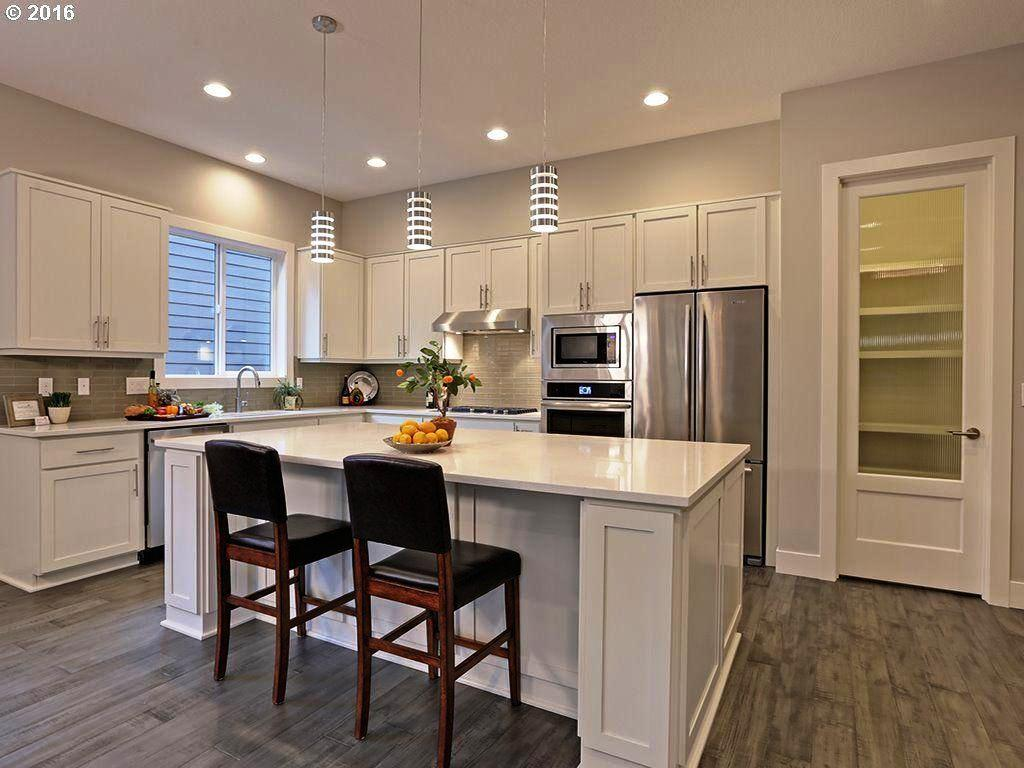 Small Shaped Kitchen Designs Island Considering