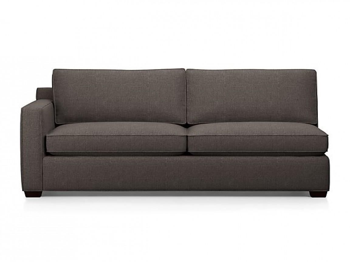 Small Sleeper Sofa Sectional Coaster Company Gus Grey