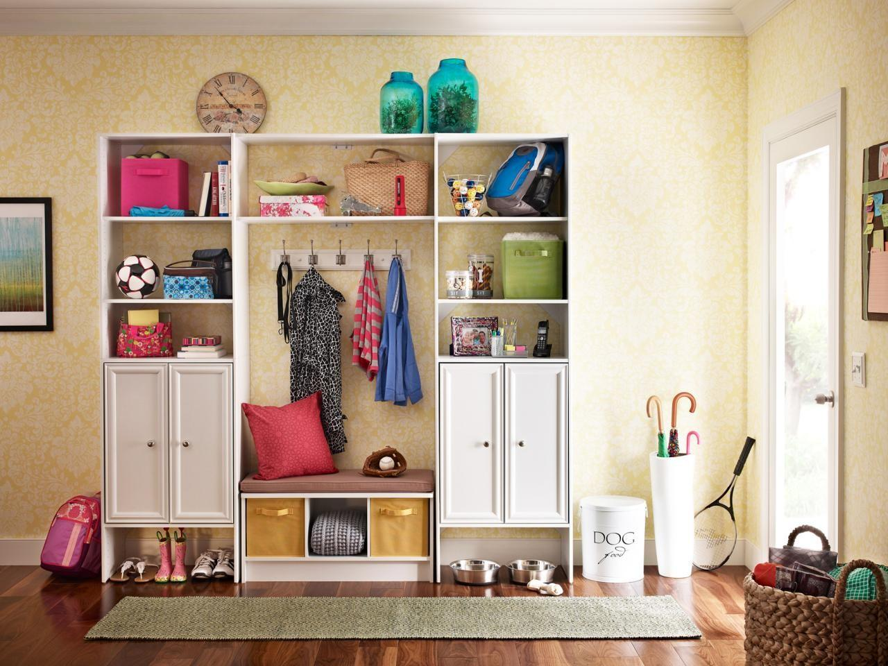 Small Space Mudroom Solutions