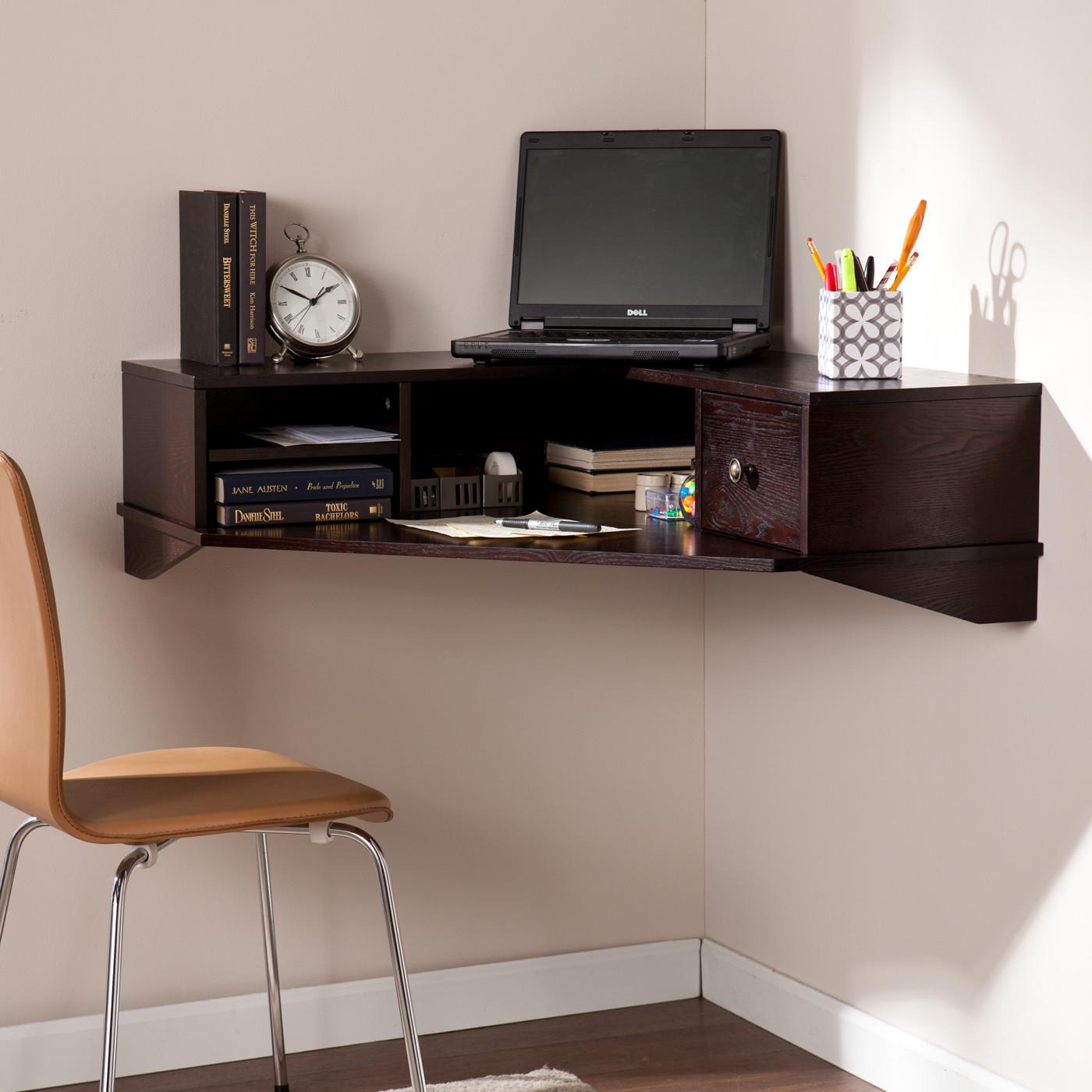 Small Space Wall Mounted Computer Workstation Solutions