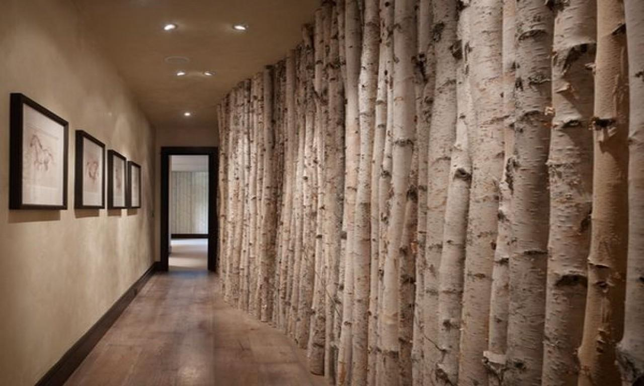 Small Spaces Bedroom Diy Tree Mural Birch Wall