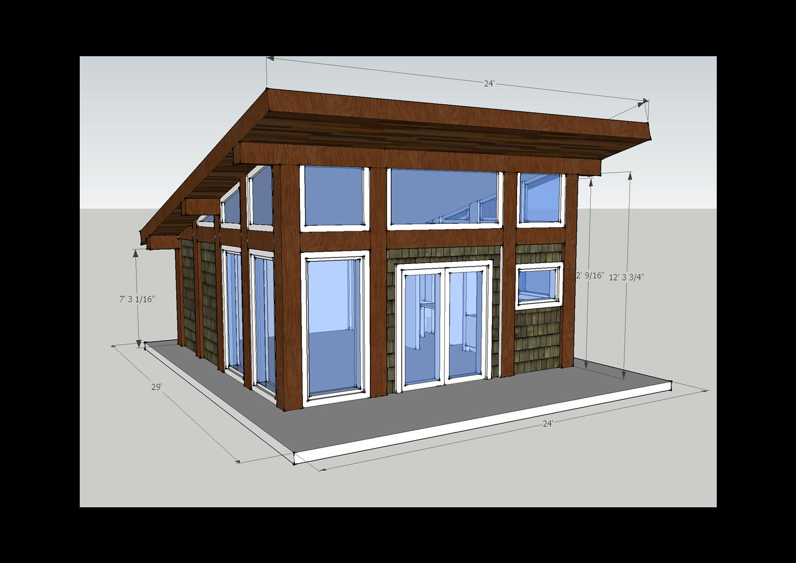 Small Spaces Timber Home Modern New Style Cabins Utahs