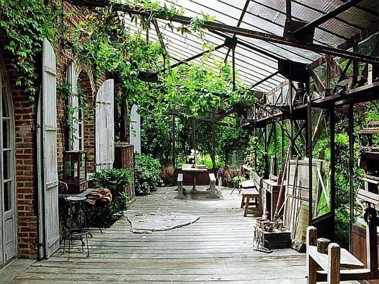 Small Sunroom Decor French Country Stone Homes Rustic