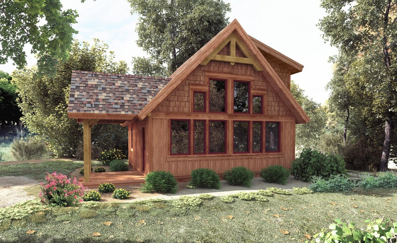 Small Timber Frame House Plans Home Deco