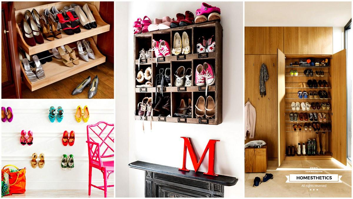 Smart Examples Shoe Storage Diy Projects Your Home