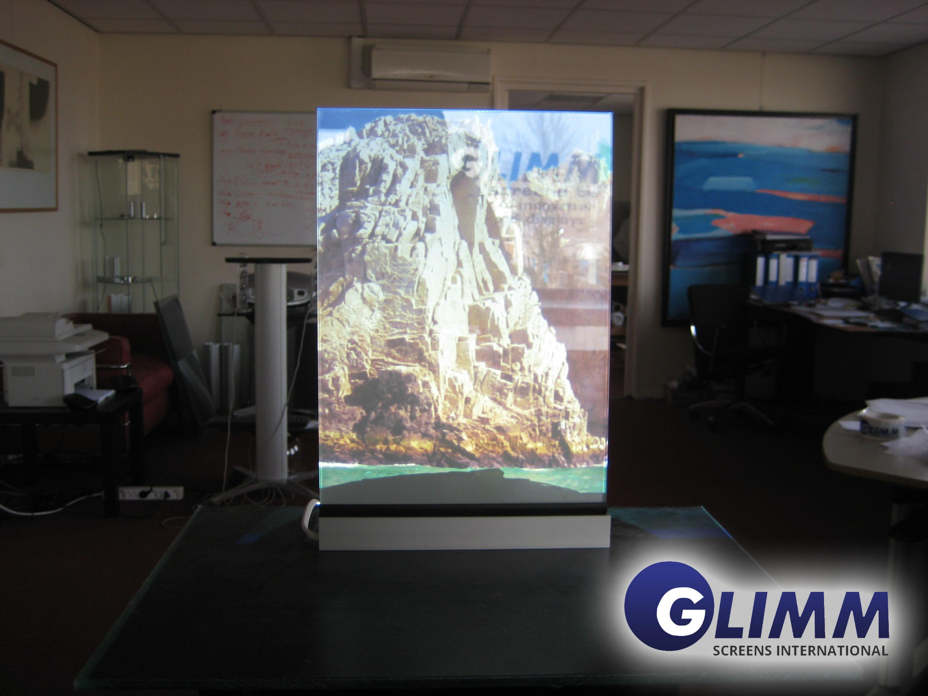 Smart Film Off2 Glimm Display